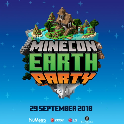 MINECON Earth Party
