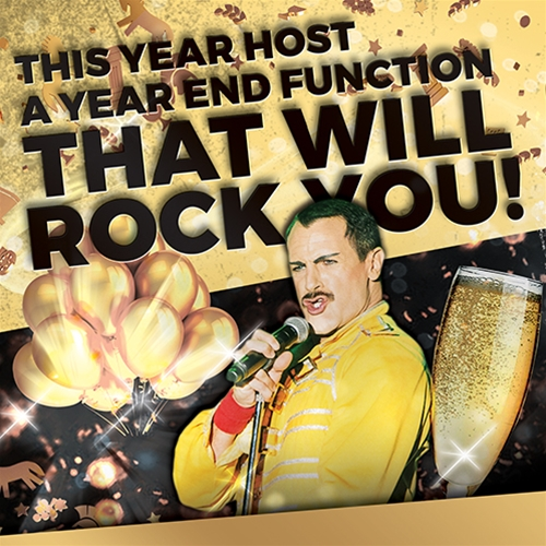 A Year End Function that will Rock You!