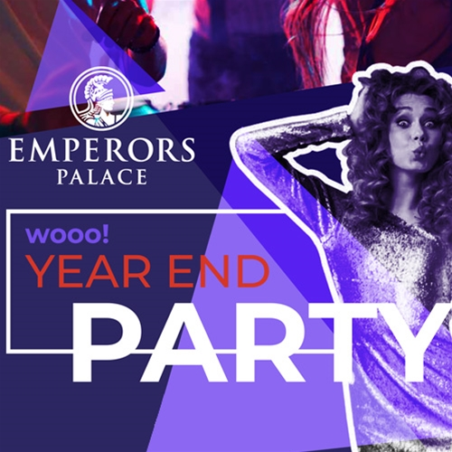 Year-End Party at Emperors Palace!